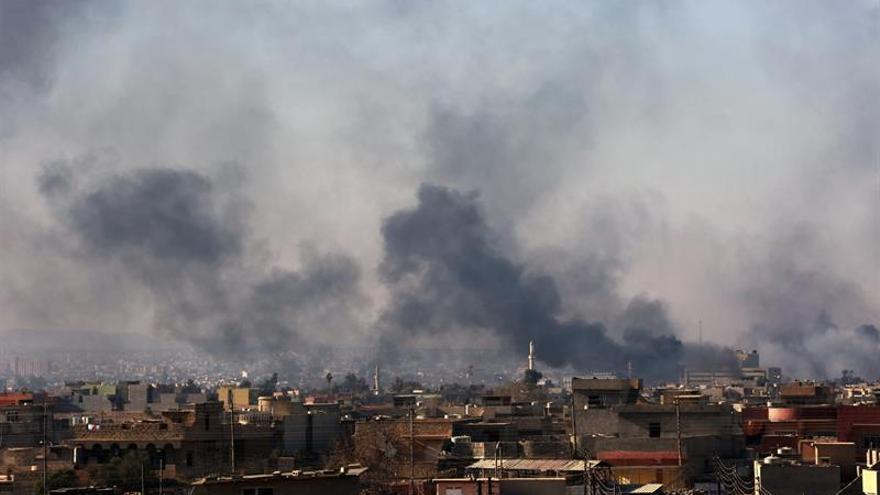 Mueren 70 miembros del EI en un bombardeo de la aviación iraquí al oeste de Mosul