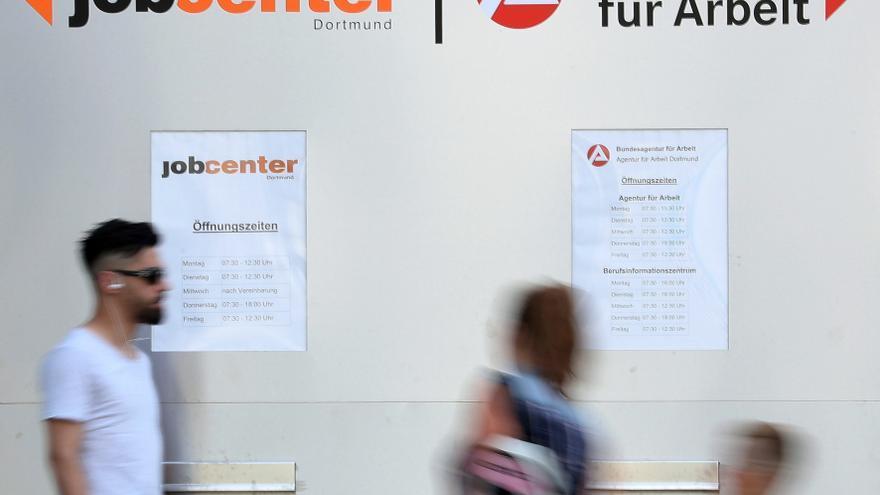 El desempleo subió dos décimas en la eurozona durante julio, hasta el 7,9 %