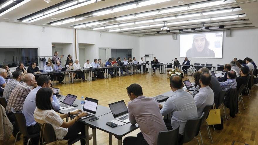 Responsables tecnológicos de los principales medios nacionales participan en este foro en Huesca.