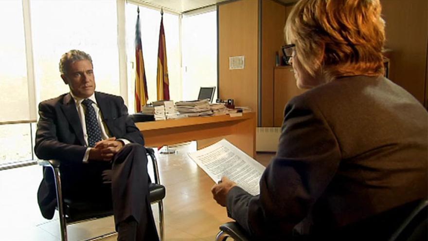 El decano de los jueces de Valencia, Pedro Viguer/cuatro.com