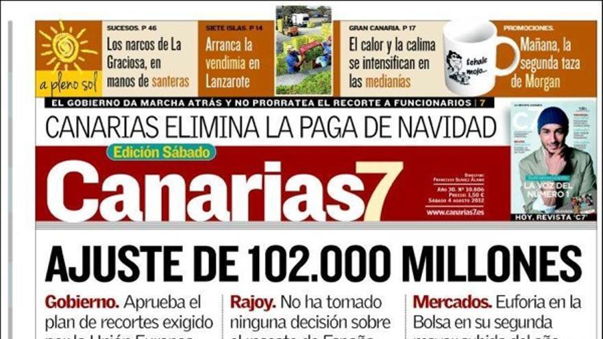 De las portadas del día (4/08/2012) #2