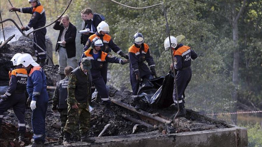 Seis muertos, tres de ellos niños, en un incendio en el oeste de Rusia