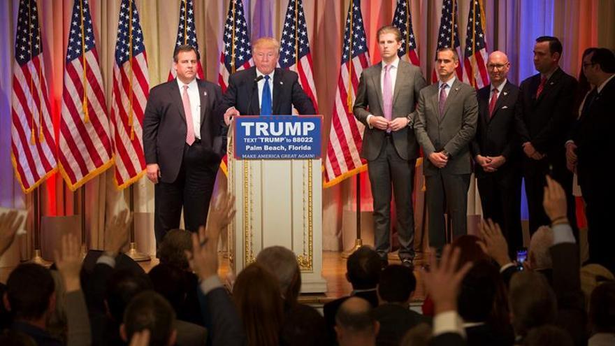 Donald Trump gana unas ajustadas primarias republicanas en Vermont
