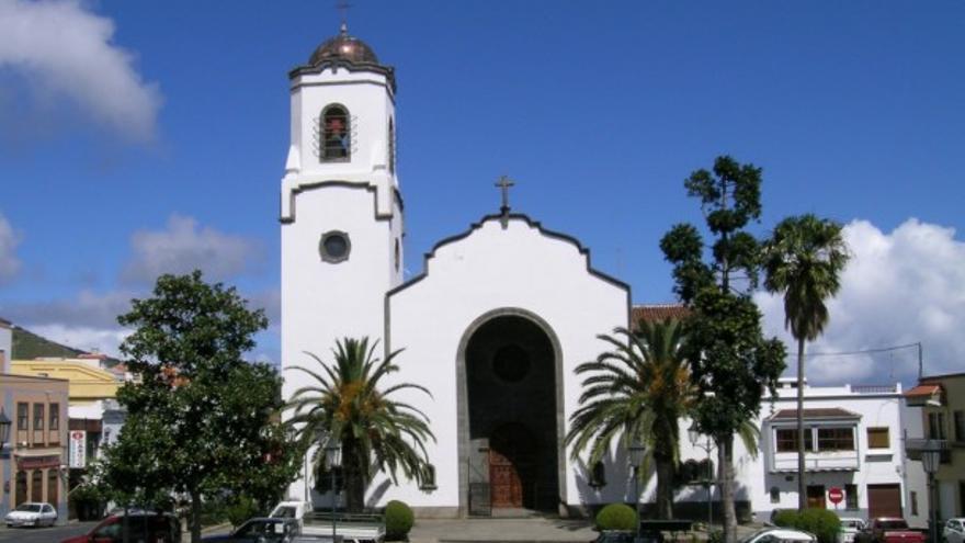 Iglesia de Montserrat en Los Sauces.