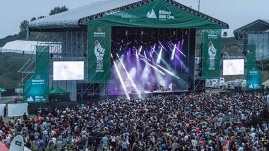 La duodécima edición de Bilbao BBK Live reúne a más de 112.000 personas en sus tres jornadas