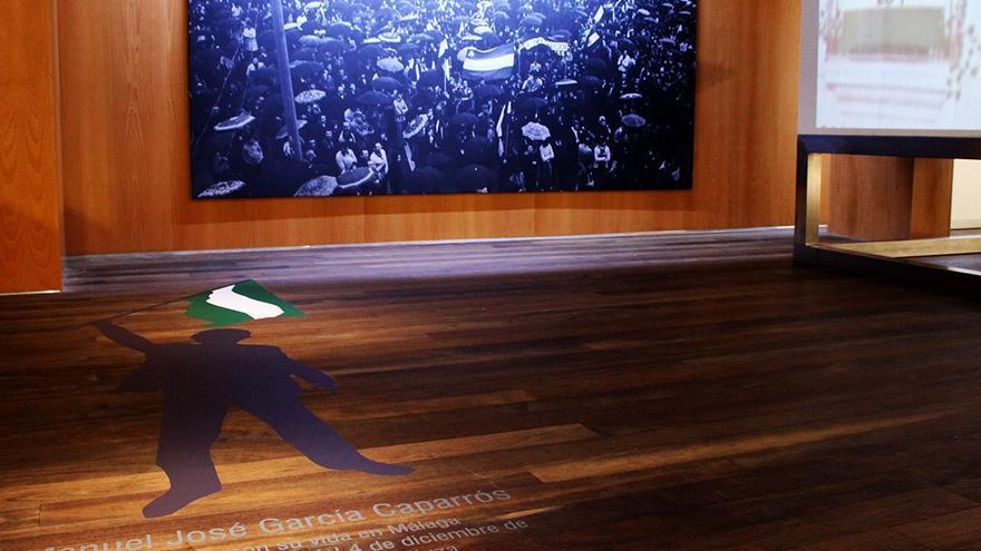 García Caparrós en el Museo de la Autonomía de Andalucía.   JUAN MIGUEL BAQUERO