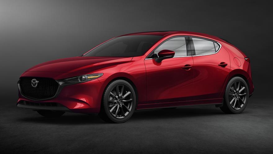 La imagen definitiva del nuevo Mazda3.