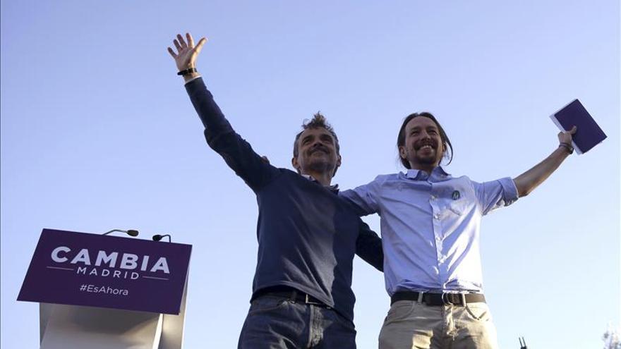 """Iglesias invoca a """"una marea morada"""" y pide una oportunidad a los indecisos"""