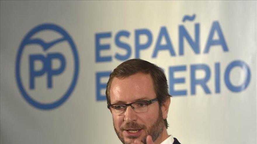 Maroto apela al PSOE y otros para facilitar el Gobierno del PP frente a Podemos