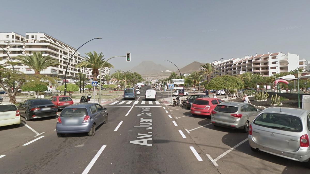 Avenida Juan Carlos I, Arona