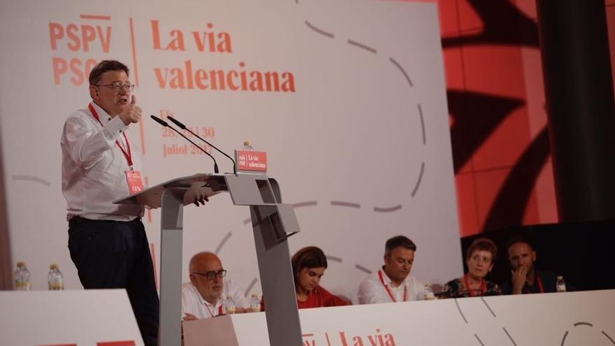 """Puig insta al PSPV a salir del XIII Congreso Nacional con las ideas para que esta legislatura no sea """"un oasis"""""""