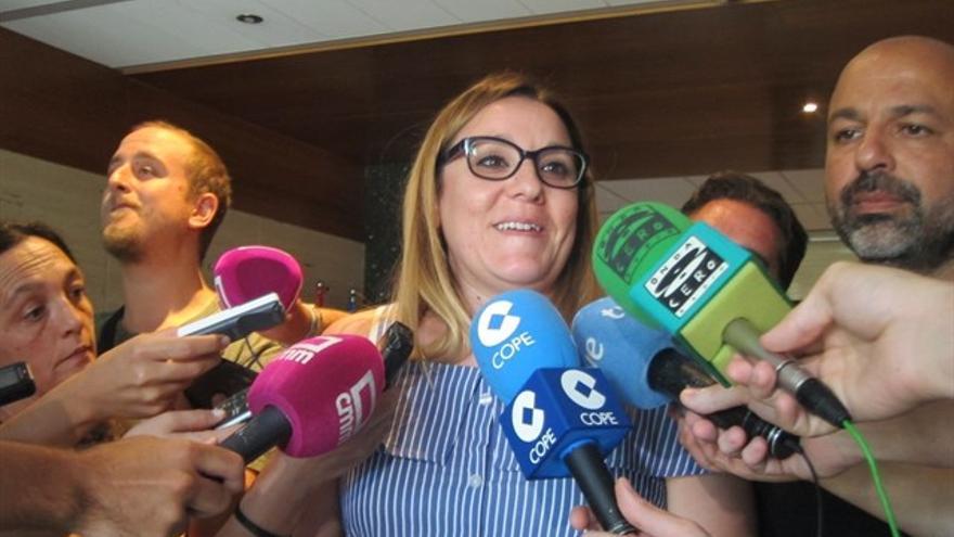 María Díaz, vicepresidenta primera de las Cortes regionales