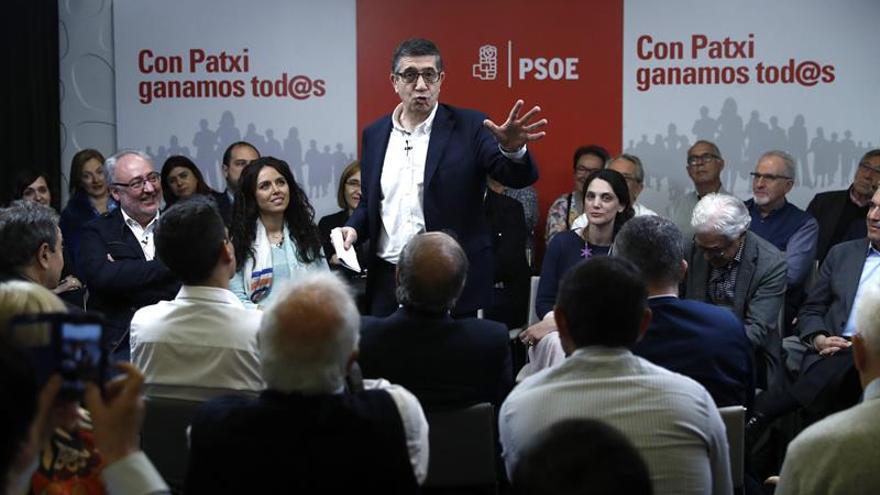 Patxi López: La lucha por lo público y servicios sociales necesita PSOE unido