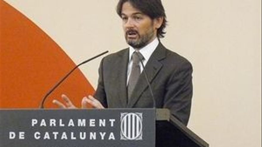 Oriol Pujol, presidente de CIU en el Parlamento catalán.