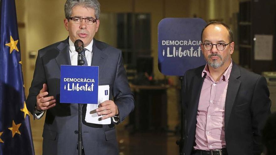 Homs afirma que intentar resolver la cuestión catalana en los tribunales es un error