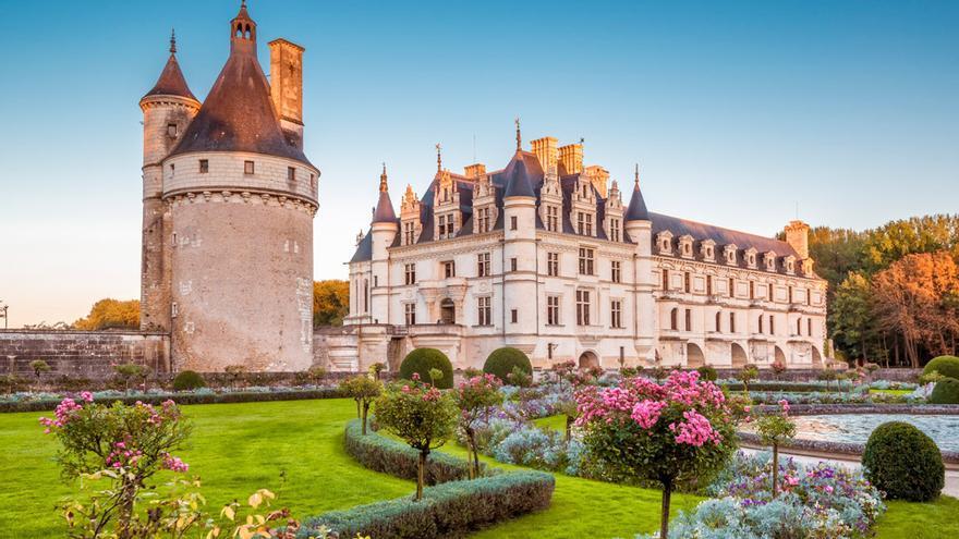 El castillo de Chenonceaux.