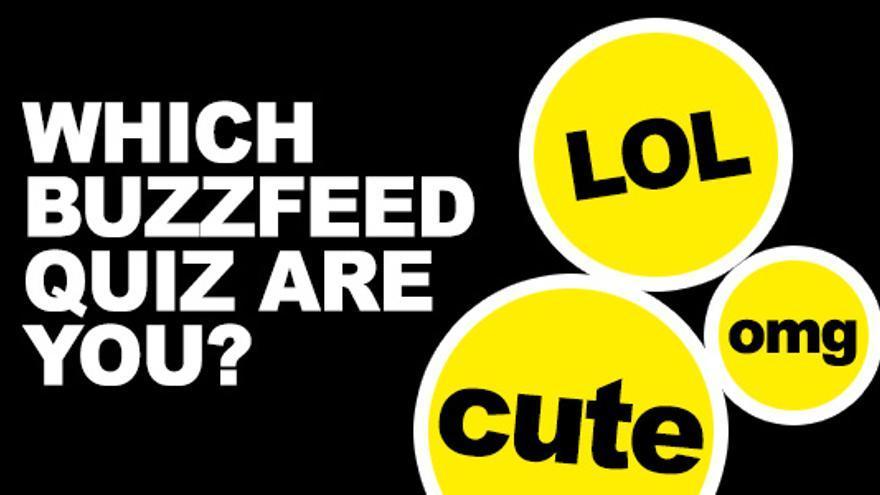 Un cuestionario de BuzzFeed