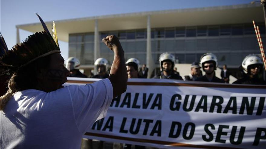 El Gobierno brasileño mediará en la disputa de tierras entre indios y hacendados