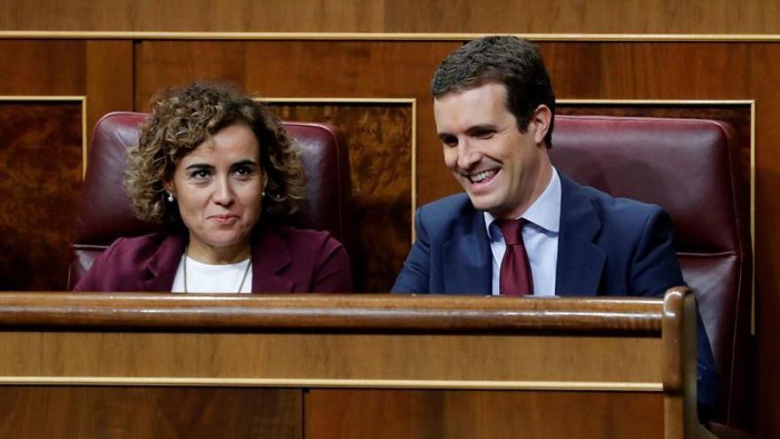 Casado llama indecente a Sánchez por decir que PP se aprovecha del terrorismo