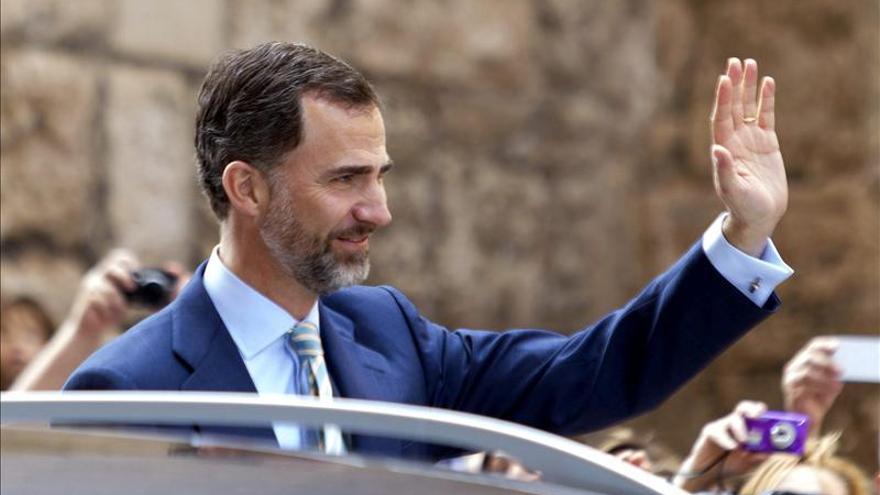 """El Príncipe pide a los jueces """"prudencia y fortaleza"""" en """"momentos complejos"""""""