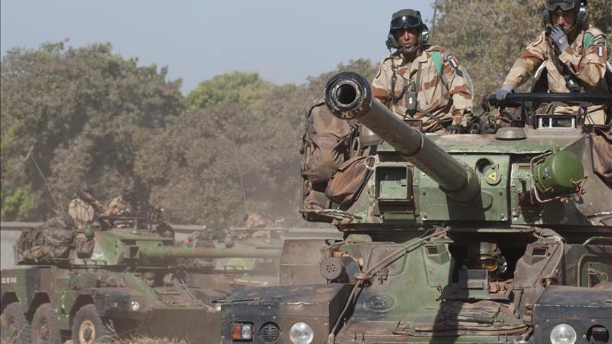 Tropas de Francia y Mali entran en la cuidad de Diabali, según medios galos