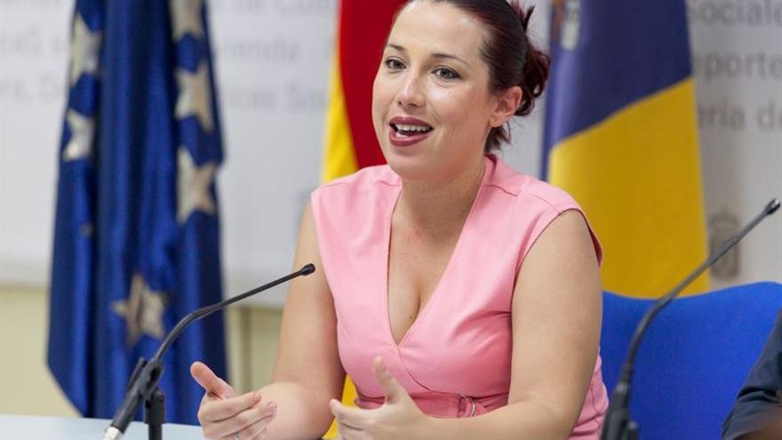 Patricia Hernández, vicepresidenta del Gobierno de Canarias. (EMETERIO SUÁREZ GUERRA)