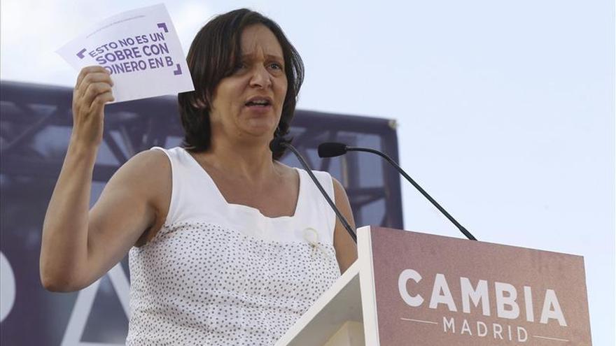 """Bescansa (Podemos) llama a dar la sorpresa el 24M y echar a los """"chorizos"""""""