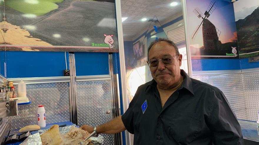 Juan Ignacio Huertas, de la Cafetería Yazmina.