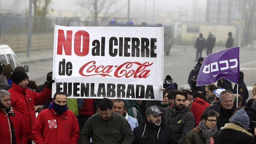 """CCOO insta a Coca-Cola a negociar la readmisión de """"todos los trabajadores"""""""