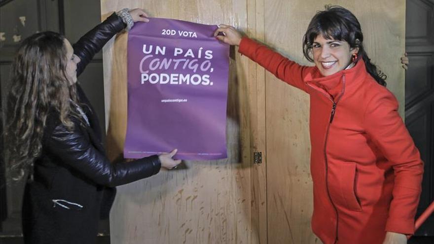 """Teresa Rodríguez: """"No podemos permitir que la siguiente generación viva sin derechos"""""""