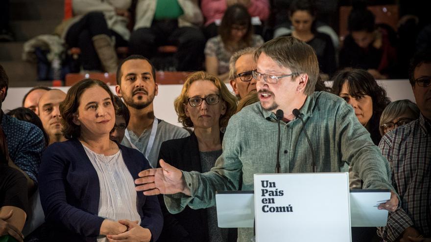Xavier Domènech i Ada Colau. Un País en Comú