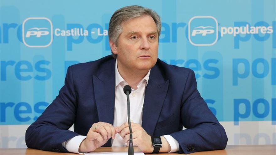 El portavoz del PP en las Cortes, Francisco Cañizares / Foto: EUROPA PRESS