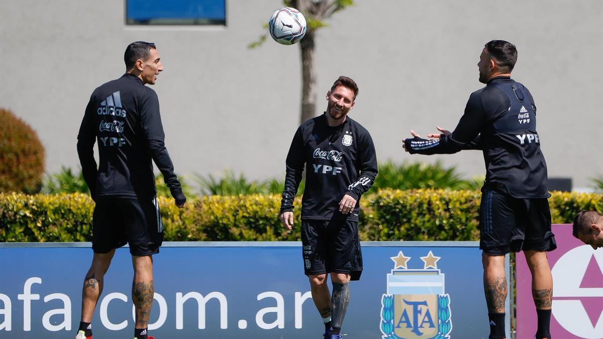 La Selección Argentina, entre risas y esperanza para encarar la triple fecha de Eliminatorias