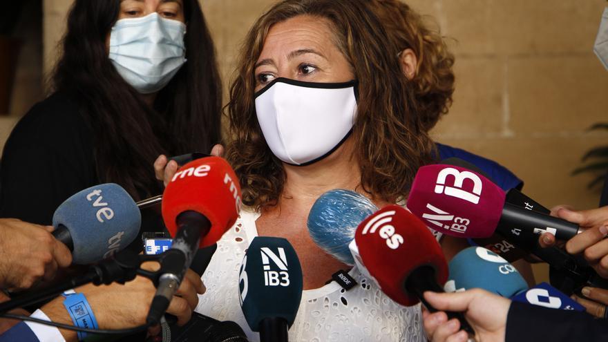 La presidenta del Govern balear, Francina Armengol.
