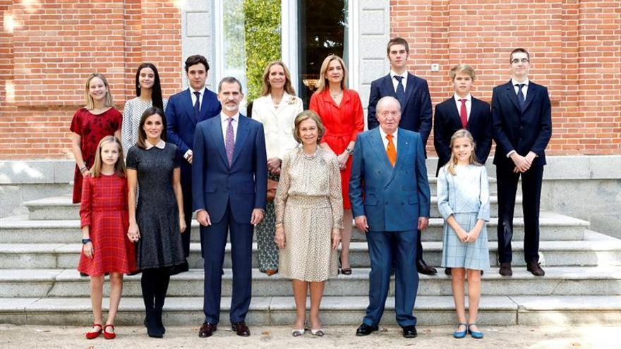 La infanta Cristina reaparece en la Zarzuela para el 80 cumpleaños de doña Sofía
