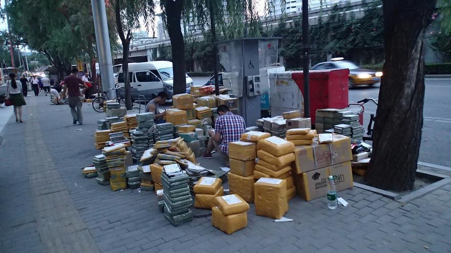 Los paquetes venidos de China han desbordado la situación en las aduanas
