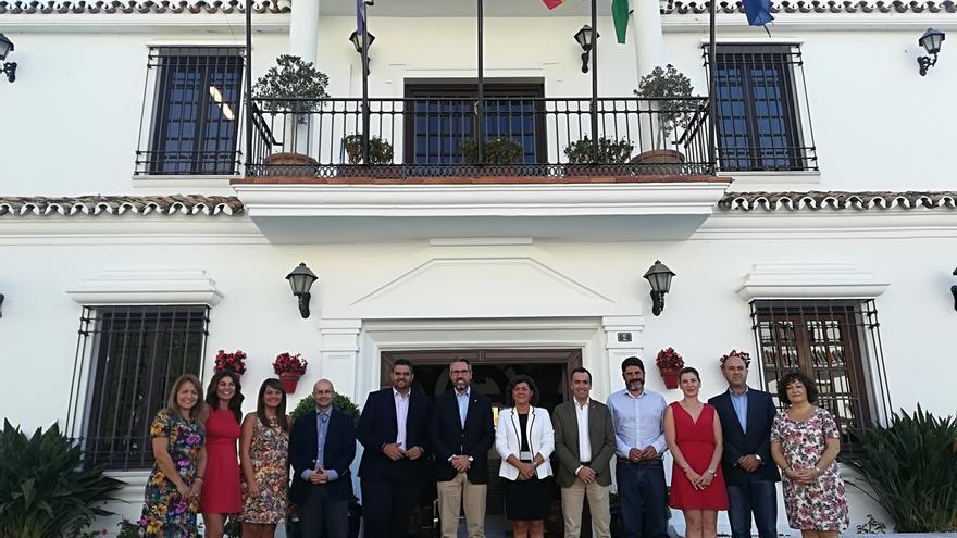 Cs y PSOE de Mijas cifran en más del 50% el cumplimiento de su acuerdo programático en el primer año de gobierno