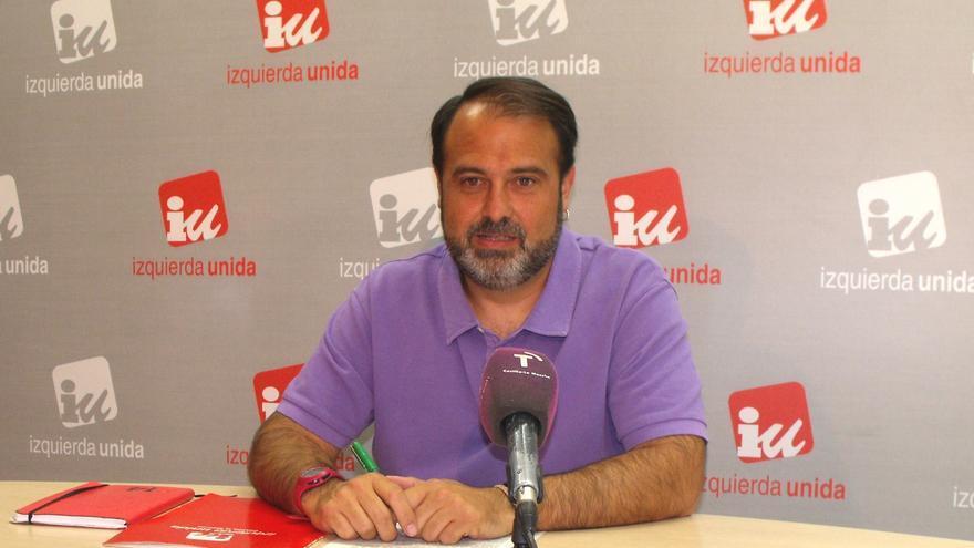 Javier Mateo, coordinador local en Toledo de Izquierda Unida.