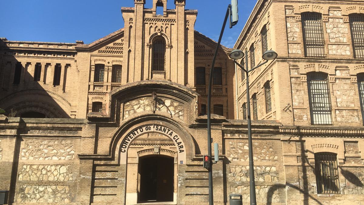 El convento de Santa Clara, de València, en la actualidad.