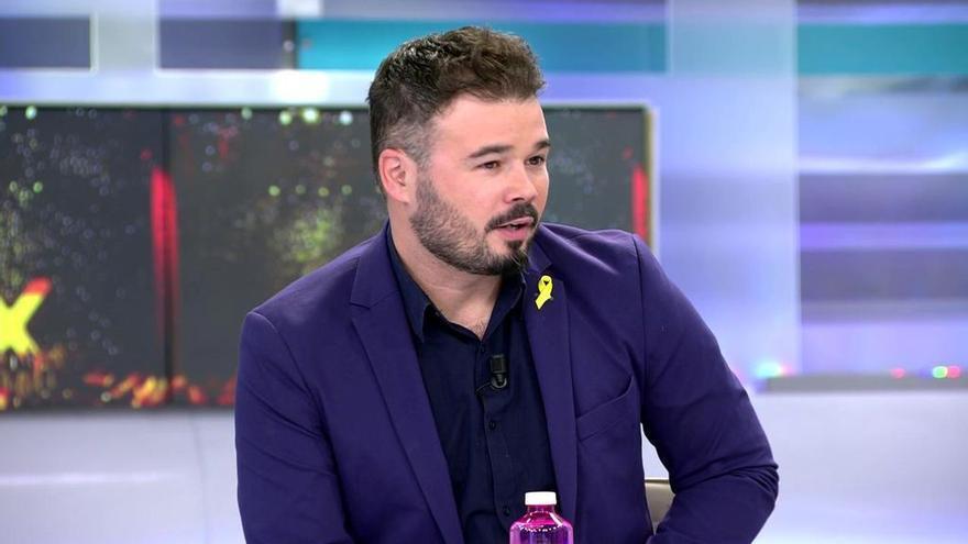 Gabriel Rufián en 'El programa de AR'