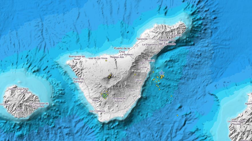 Terremotos registrados en Canarias en las últimas horas
