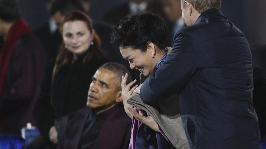 Obama y Putin mantienen un breve encuentro en Pekín con ocasión de la APEC