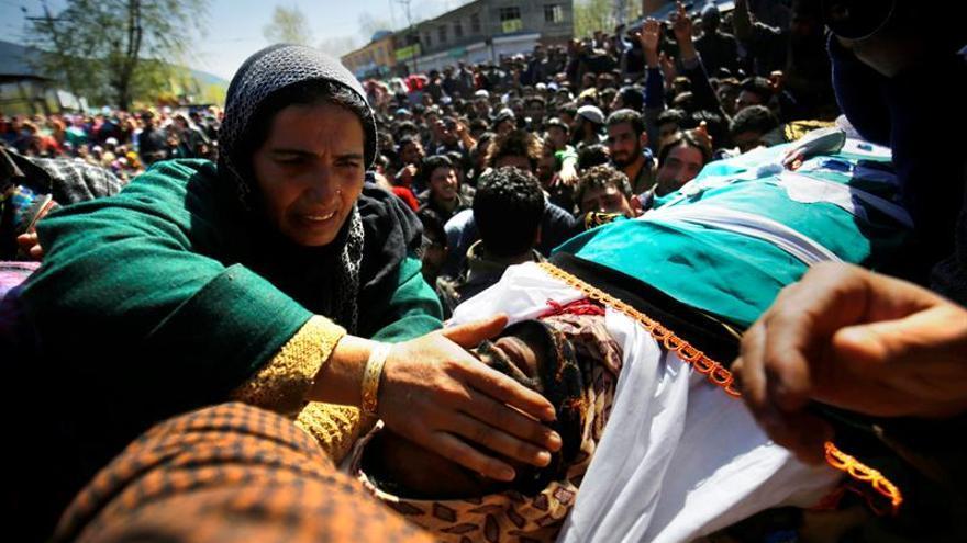 Mueren 4 terroristas un día después de las violentas elecciones en Cachemira india