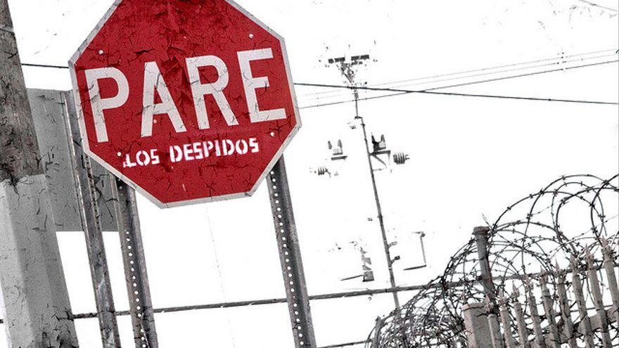 Pare Los Despidos. Ep-jhu Creative Commons.