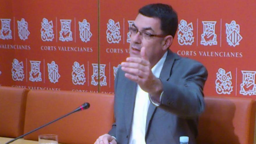 Enric Morera, portavoz de Compromís en las Corts