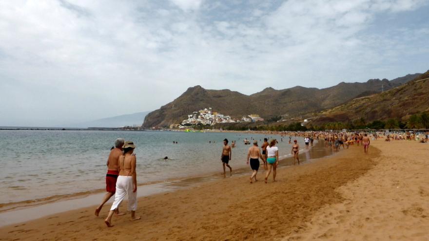 Playa de Las Teresitsa, Santa Cruz de Tenerife