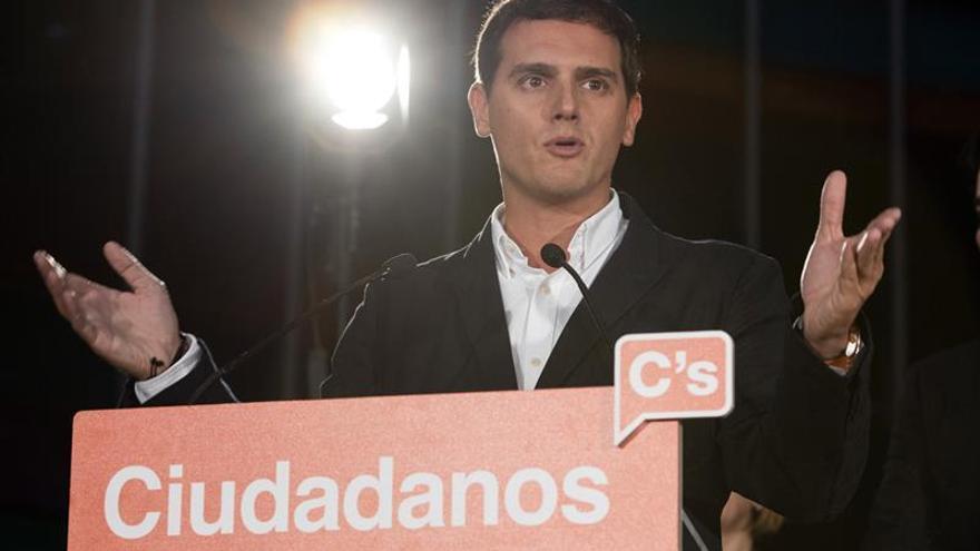 Rivera: No hay proyecto viable para Euskadi si no es con el resto de España