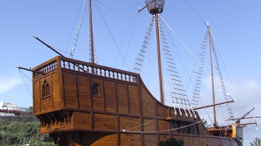 El Museo Naval de Santa Cruz de La Palma está instalado en el Barco de la Virgen.