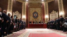 "Marlaska asegura que España va a seguir luchando por un final del terrorismo ""con verdad"" frente al ""relato falso"""