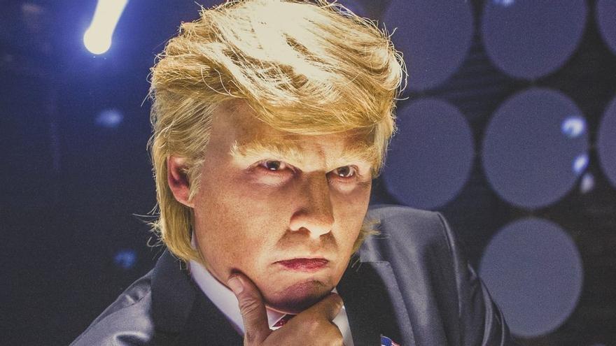 Johnny Depp como Donald Trump en 'The art of deal'